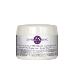 CREMA MASSAGGIO INESTETISMI CELLULITE Limone-Alghe-Rusco-Salvia 250 ML.